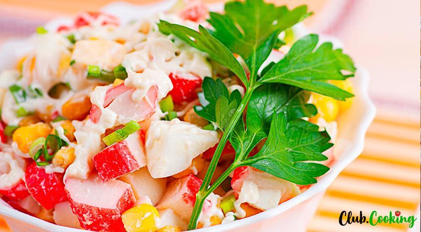 Crab Salad 🥘