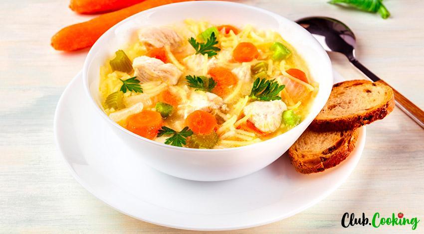 Chicken Noodle Soup 🥘