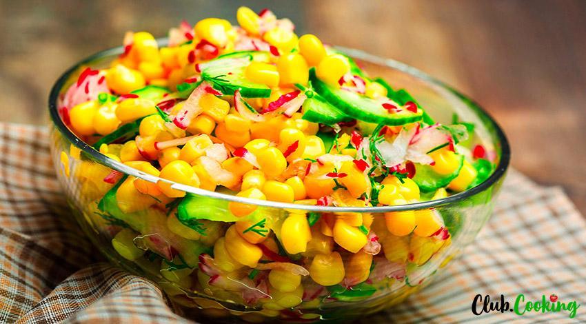 Fresh Summer Corn Salad 🥘