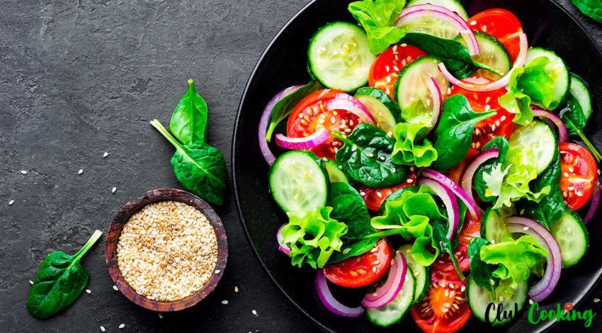 Cucumber Tomato Salad 🥘