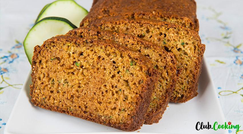 Easy Zucchini Bread 🥘