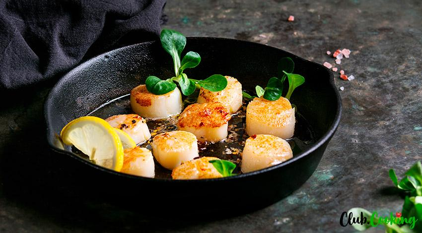 Grilled Scallops 🥘