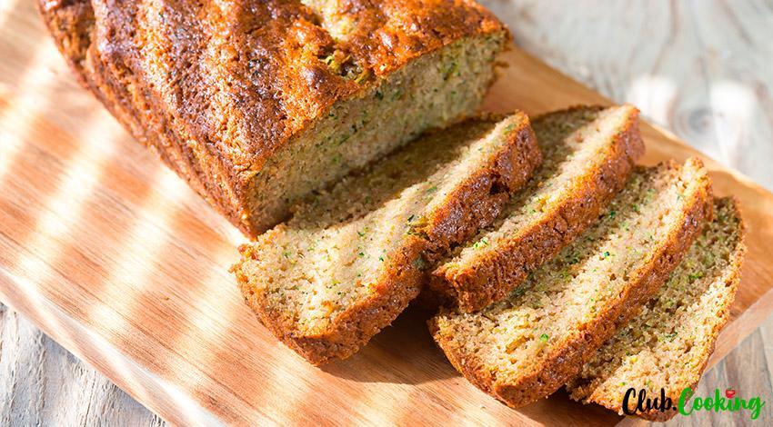 Healthy Zucchini Bread 🥘