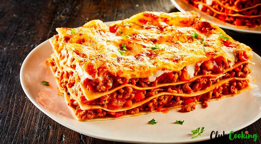 No Boil Lasagna 🥘
