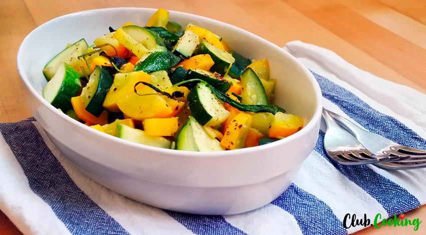 Zucchini And Squash 🥘