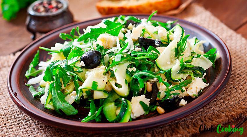 Zucchini Salad 🍆