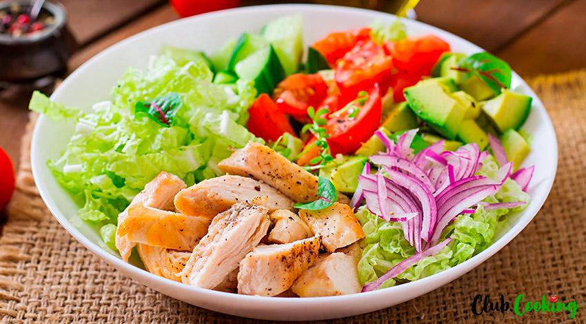 Buffalo Chicken Salad 🥘