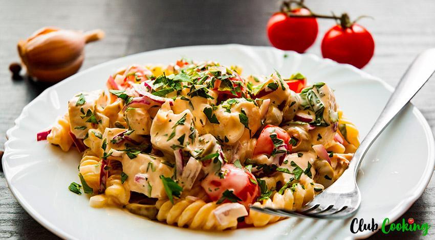 Chicken Pasta Salad 🥘