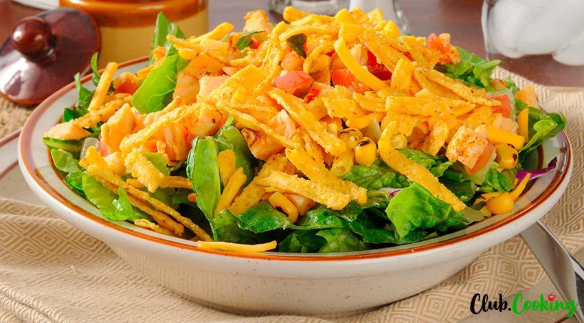 Chicken Taco Salad ?