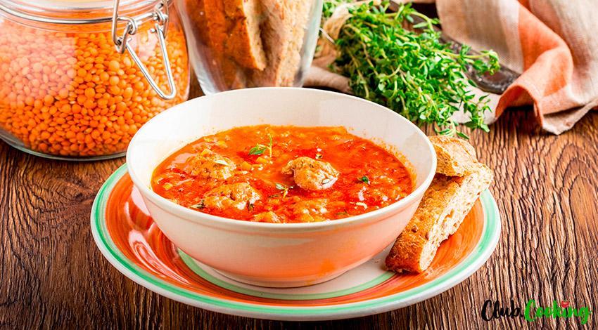 Italian Meatball Soup 🥘