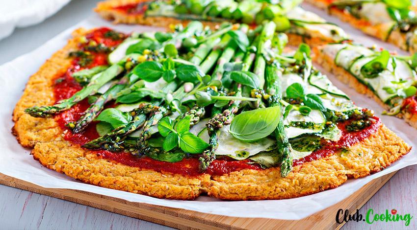 Zucchini Pizza Crust 🥘