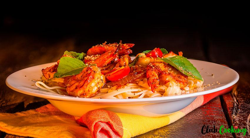 Cajun Shrimp Pasta 🥘