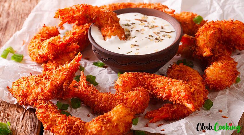 Coconut Shrimp Sauce 🥘