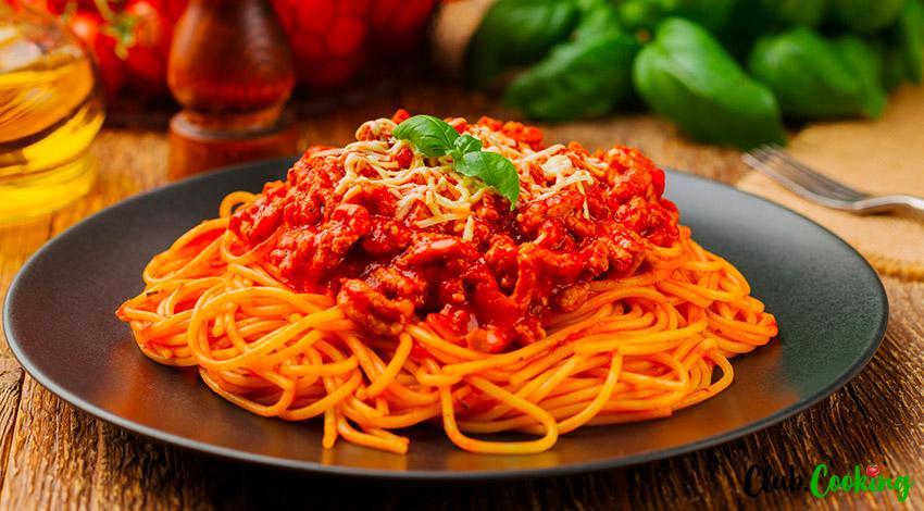 Crock Pot Spaghetti 🥘