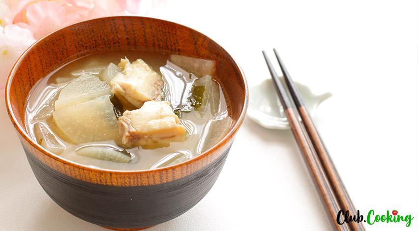 Daikon Soup 🥘
