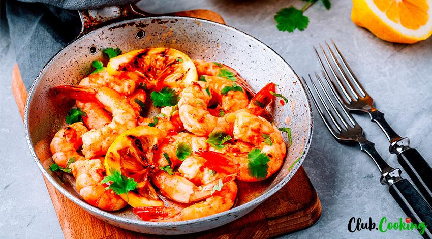 Garlic Butter Shrimp 🥘