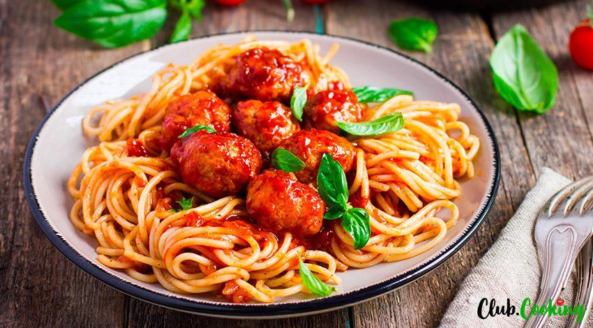 Instant Pot Spaghetti And Meatballs 🥘
