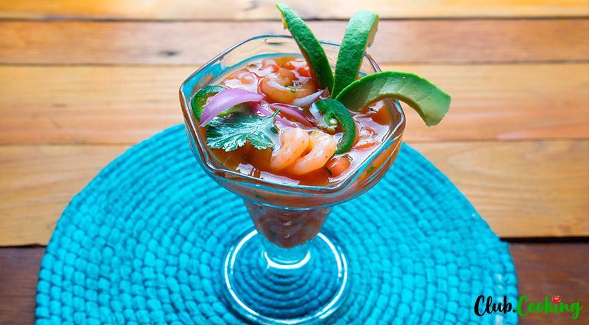 Mexican Shrimp Cocktail 🥘