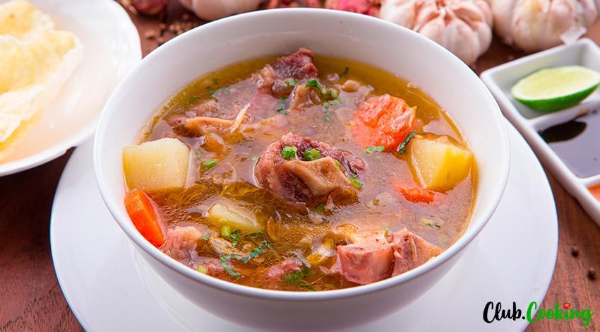 Oxtail Soup Korean 🥘