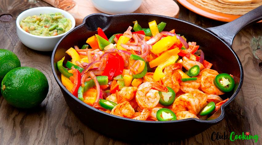 Shrimp Fajitas 🥘