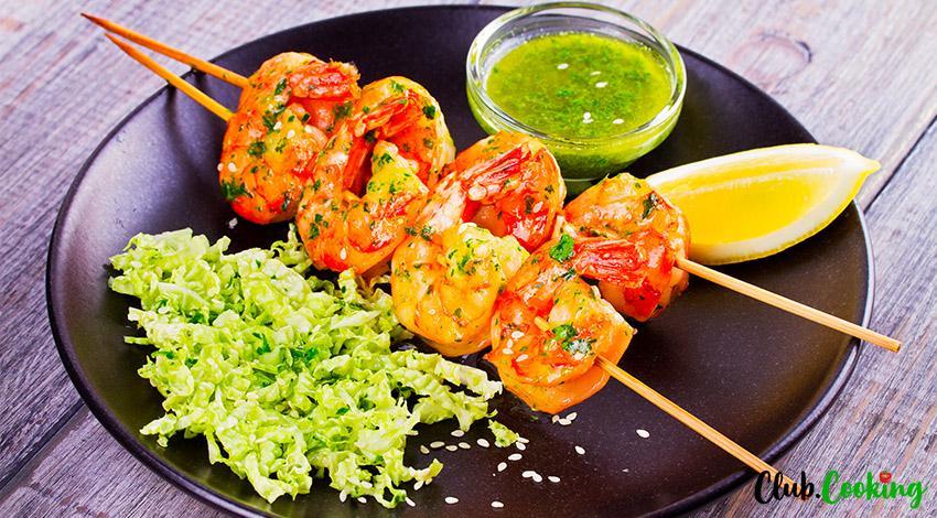 Shrimp Kebobs 🥘