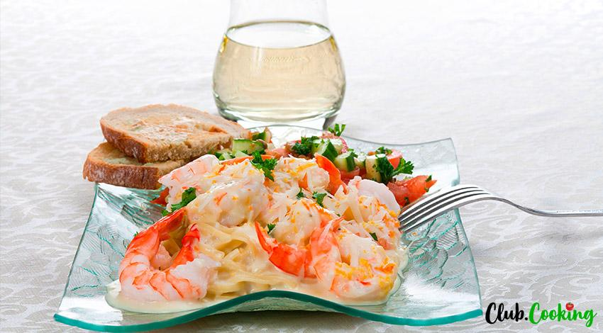 Shrimp Pasta Salad 🥘