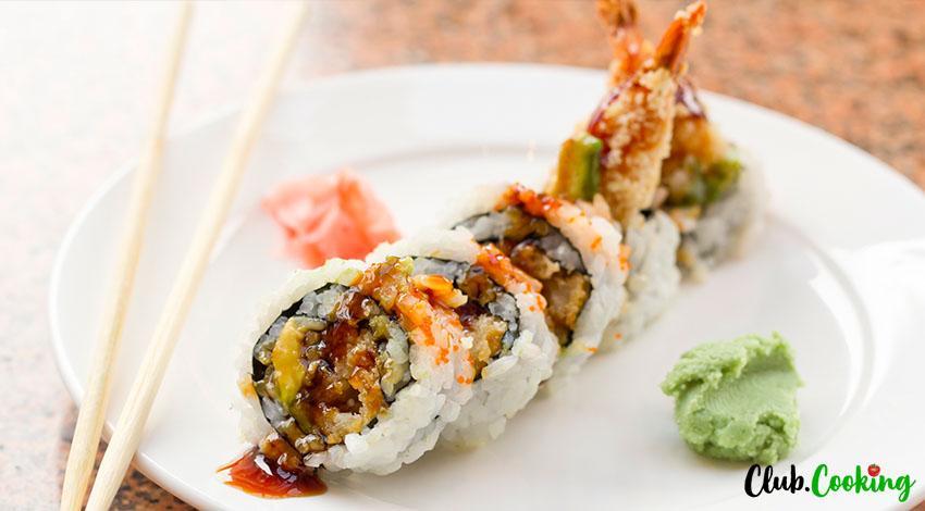 Shrimp Tempura Roll 🥘