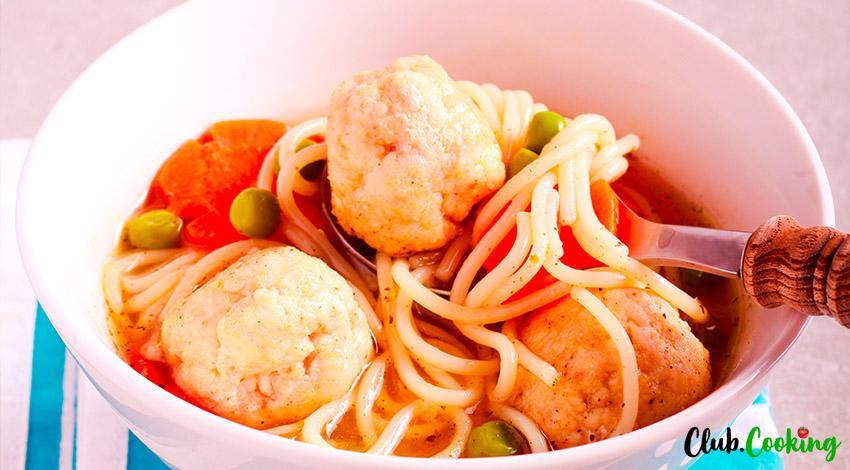 Spaghetti Soup 🥘