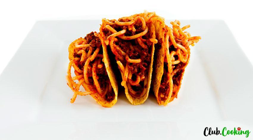 Spaghetti Tacos 🥘