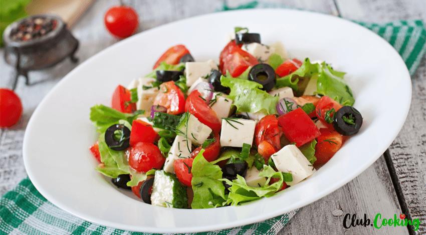 Griechischer Salat 🥘