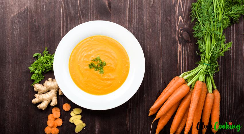 Möhren Ingwer Suppe 🥘
