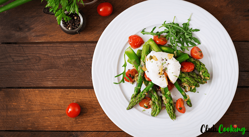 Grüner Spargel Salat 🥘