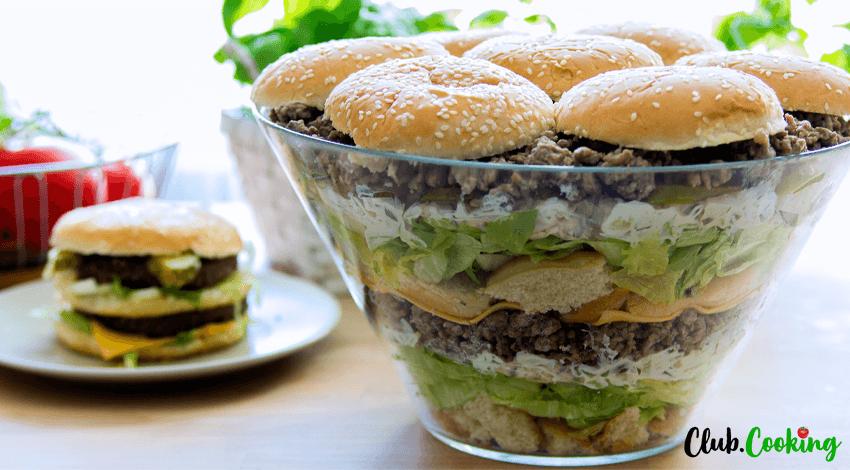 Big Mac Salat 🥘
