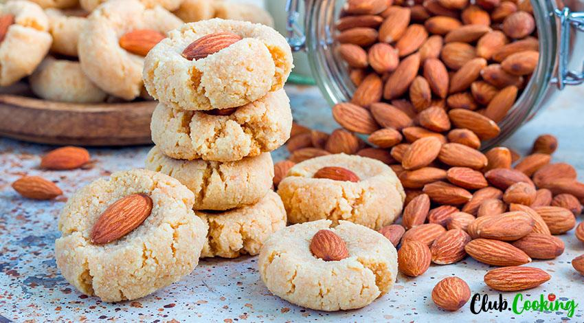 Almond Cookies 🥘
