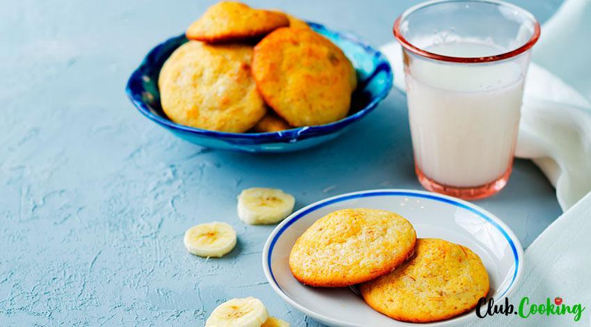 Banana Cookies 🥘