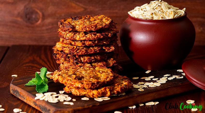 Banana Oatmeal Cookies 🥘
