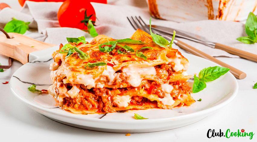 Barilla Lasagna 🥘