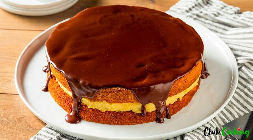 Boston Cream Pie 🥘