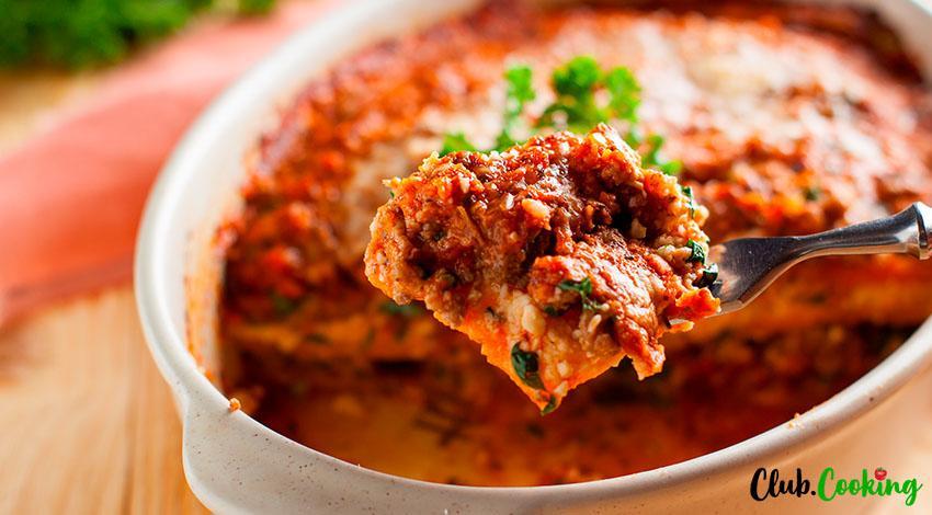 Cabbage Lasagna 🥘