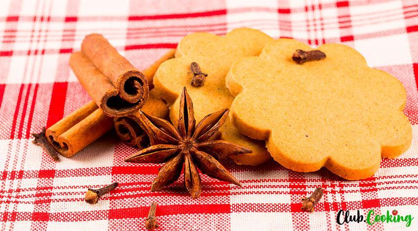 Cinnamon Cookies 🥘