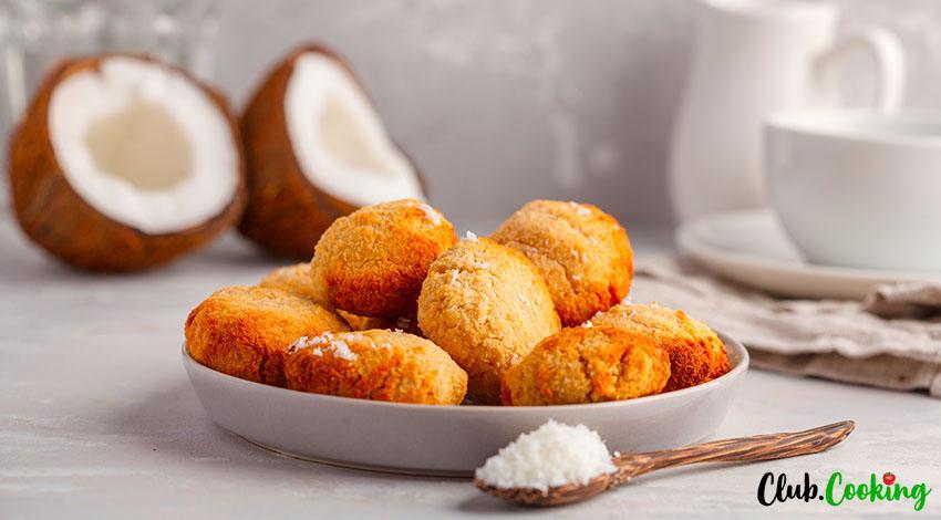 Coconut Cookies 🥘