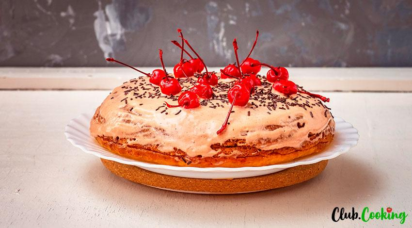 Fruit Cocktail Cake 🥘