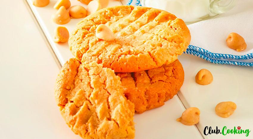 Gluten Free Peanut Butter Cookies 🥘