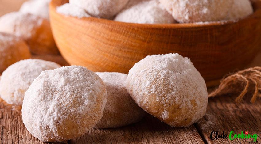 Italian Wedding Cookies 🥘