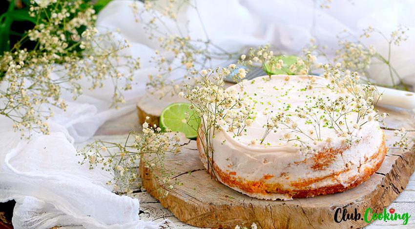 Key Lime Cake 🥘
