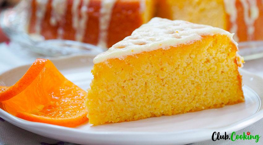 Mandarin Orange Cake 🥘