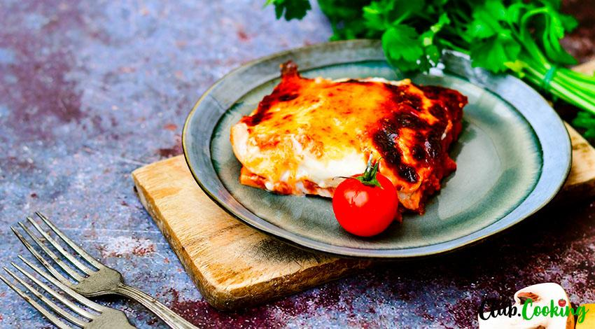 Mushroom Lasagna 🥘