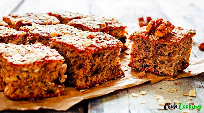 Oatmeal Cake 🥘