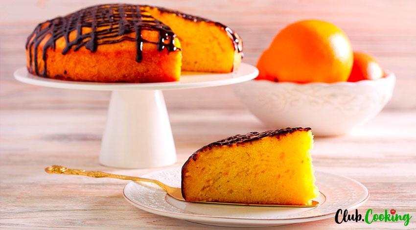 Orange Cake 🥘