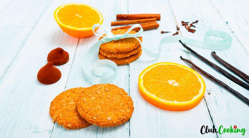 Orange Cookies 🥘